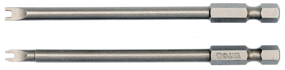 """Насадка отверточная YATO 1/4"""" SPANNER SP4/8 х 100 мм 2 шт"""