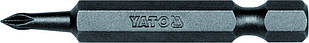 "Насадка отверточная YATO 1/4 ""крестовая PH0 x 50 мм 50 шт"
