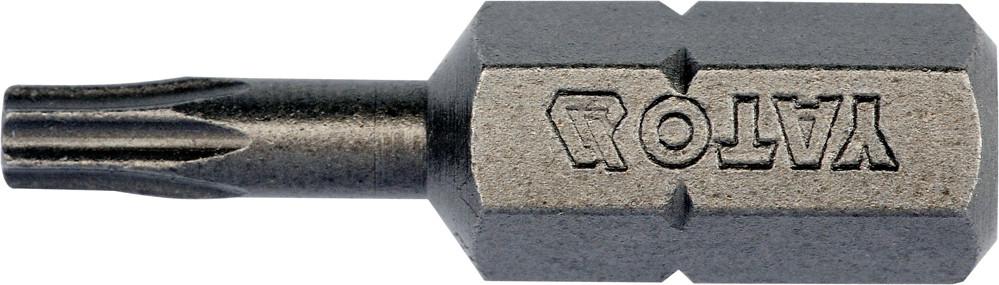 "Насадка отверточная YATO TORX 1/4"" T10 x 25 мм 10 шт"