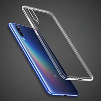 Чехол силиконовый ультратонкий Epic для Xiaomi Mi A3 Прозрачный (Сяоми Ксиоми Ми А3)