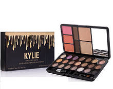 Палитра Для Макияжа Kylie Travel Pack Matte Eye Shadow , Eyebrow , Blush , Powder в Украине