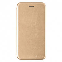 Чехол G-Case для Xiaomi Redmi Note 8 книжка Ranger Series магнитная Gold