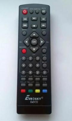 Пульт DVB-T2 Eurosky ES-3011 Eurosky ES-3015D , ES-3021, LORTON ES-4090HD, фото 2
