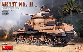 GRANT Mk. II. Сборная модель танка в масштабе 1/35. MINIART 35282