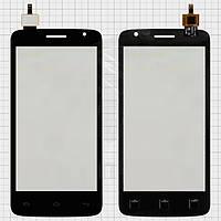 Сенсорный экран (touchscreen) для Prestigio MultiPhone 3501 Duo, черный, оригинал