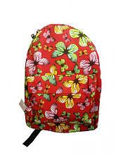 Рюкзак женский красный 038G