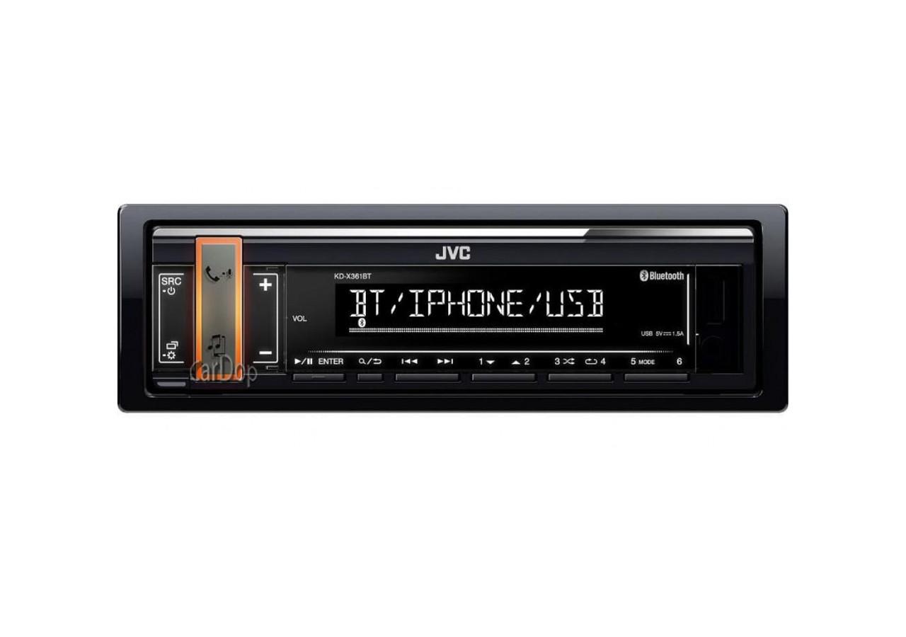 Автомагнітола JVC KD-X361BT