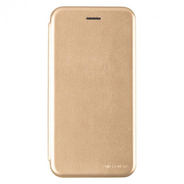 Чехол G-Case для Xiaomi Redmi 5 книжка Ranger Series магнитная Gold