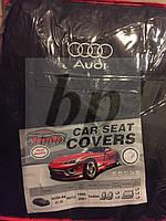 Чехлы на сиденья Favorite (автоткань) Audi A6 C5 sedan (ауди а6 с5) 1998-2001 седан, зад ряд цельный