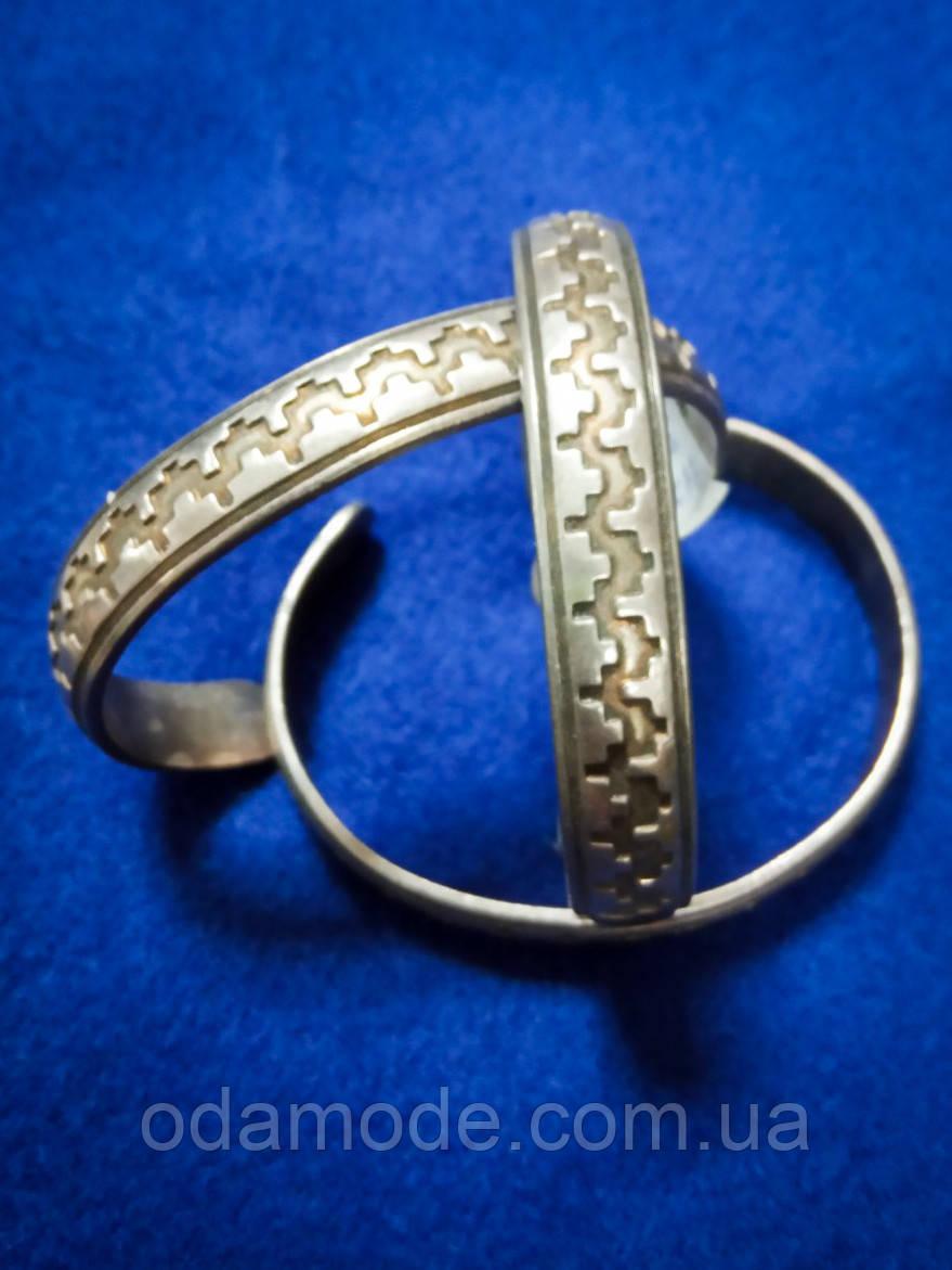 Браслет металлический серебристый  Massimo Dutti