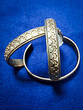 Браслет металевий сріблястий Massimo Dutti