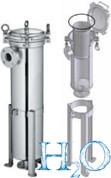 """Механический фильтр высокой производительности мешочного типа Raifil BFH-1 резьба 2"""""""
