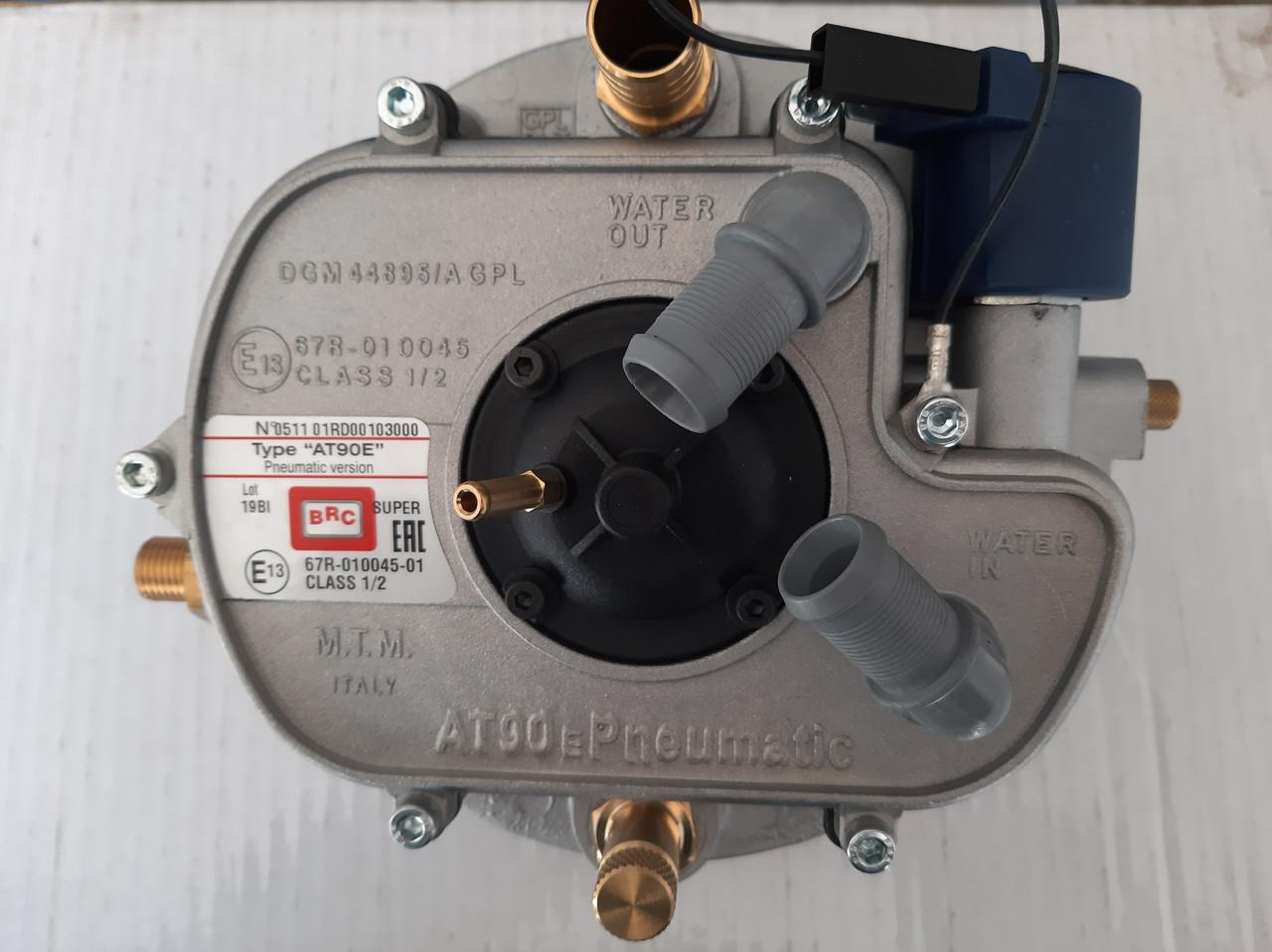 Вакуумный газовый редуктор BRC AT-90P 100 кВт. (газовый редуктор гбо 2)