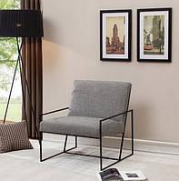 """Кресло """"Модерн"""", кресло лофт, мягкое кресло, кресло для дома, офиса, кафе, кресло на металлическом каркасе,"""