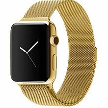 Ремешок Milanese Loop (Миланская петля) для Apple Watch 38mm/40mm Gold