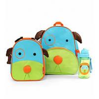 Рюкзак детский Skip Hop Zoo собака + ланчбокс.