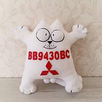 "Іграшка в машину ""Кіт Саймона"" Mitsubishi номерний знак 32 см"