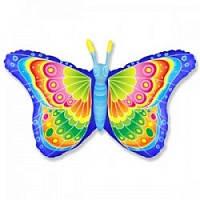 Фольга велика метелик блакитна 901721