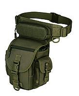 Сумка тактическая набедренная Protector Plus K314 olive   (new_66848)