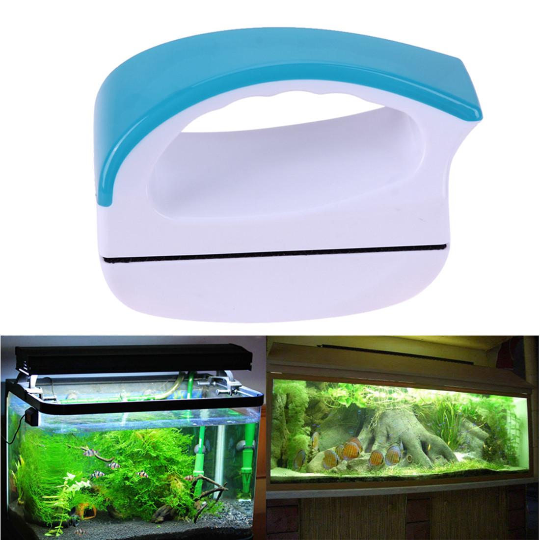 Магнитная щетка, скребок, очиститель для чистки стекла аквариума