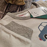 Котонова Піжама  H&M  6-9м, фото 3