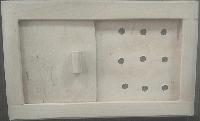 Задвижка Greus вентиляционная / ольха 250*160 мм для бани и сауны