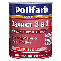 Защита 3 в 1  Polifarb желтый 2,7 кг