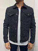 Мужская джинсовка 2Y Premium 0025 black