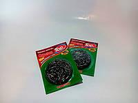 Скребок губка металлический нержавейка мягкий для посуды 8 гр Top Pack®