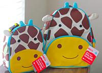 Рюкзак детский Skip Hop Zoo жираф + ланчбокс.