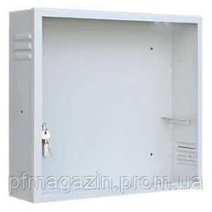 Антивандальный ящик БК-550-3U-С-ПН (ВхШхГ - 500х550х220) металл 1,5 мм.
