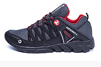 Чоловічі кросівки літні сітка Merrell Grey сірі, фото 1