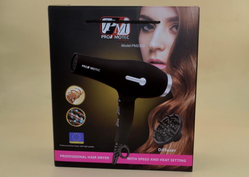 Профессиональный фен с диффузором Promotec PM2309 (3000 Вт)