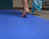 Рулонне антиковзаюче покриття з ПВХ 1,2 м х 15 м. доріжка Зигзаг h=5 мм, фото 5