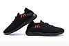 Мужские летние кроссовки сетка BS Black Line черные