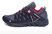 Мужские летние кроссовки сетка Merrell Grey серые, фото 1
