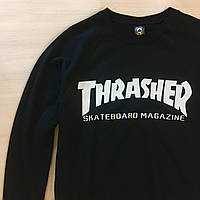 Свитшот Thrasher Full Black Черный