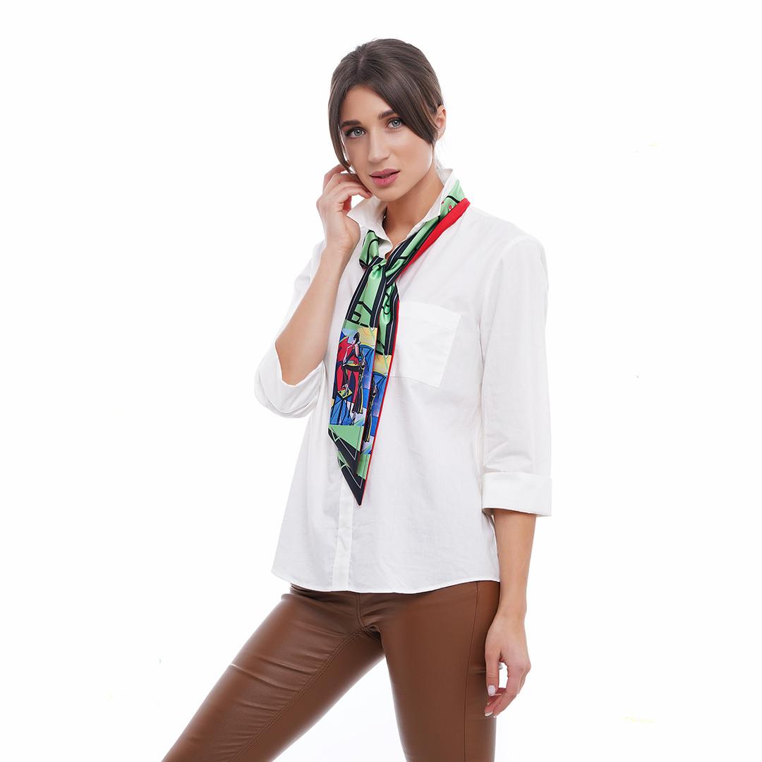 """Твилли -  дизайнерский шарфик галстук  """"Мистический блюз"""", лента для волос"""