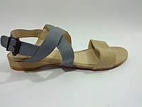 Кожаные польские женские удобные стильные сандалии 36 Kordel