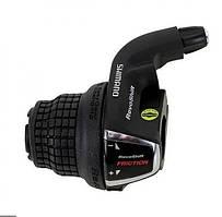 Ручка переключения левая - грипшифт Shimano Tourney SL-RS35 (3скорости)