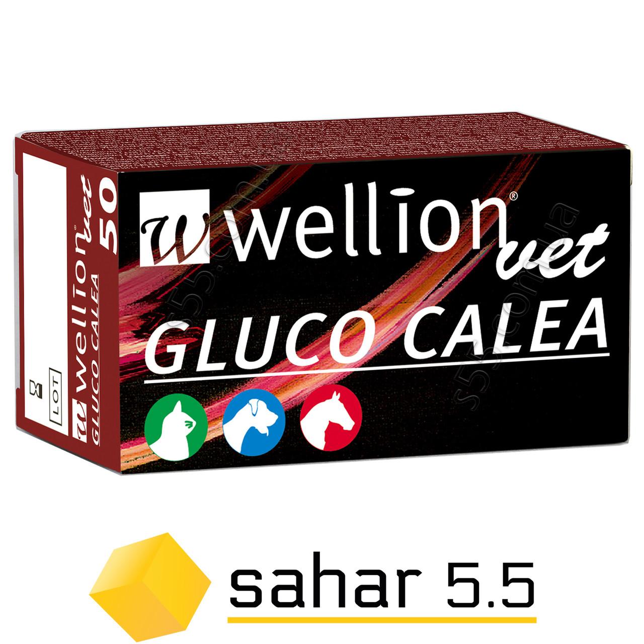 Тест полоски Wellion Vet Gluco Calea 50 шт. - Веллион Вет Глюко Калеа