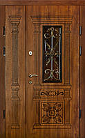 """Двері вхідні металеві з віконечком серії - ПОЛіМЕР"""""""
