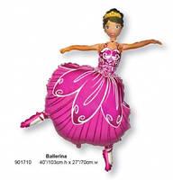 Фольга большая Балерина 901710