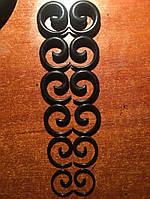 Растяжки спиральные для тоннелей в уши черные (6 пар -12 шт), фото 1