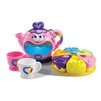 Чайный набор с подсветкой и музыкой сервиз LeapFrog Musical Rainbow Tea Set