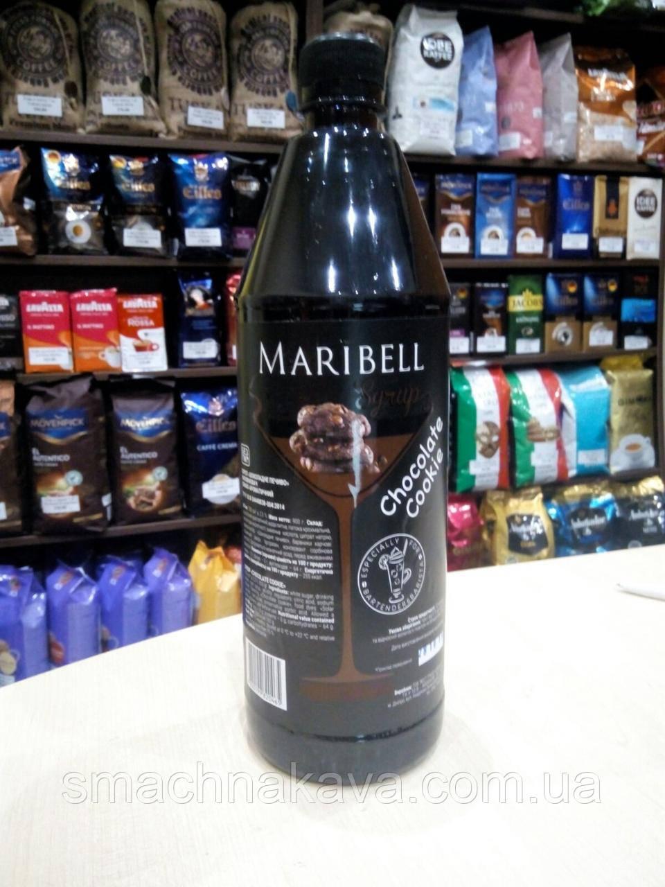 Сироп Шоколадное печенье ТМ Maribell в пластике 1 л
