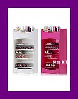 Компактный Органайзер для Хранения Косметики Cosmake Lipstick & Nail Polish Organizer!Лучший подарок
