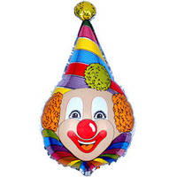 Фольга большая Клоун 901522