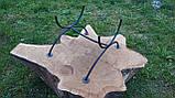 Кованая подставка для дубовой бочки, фото 3