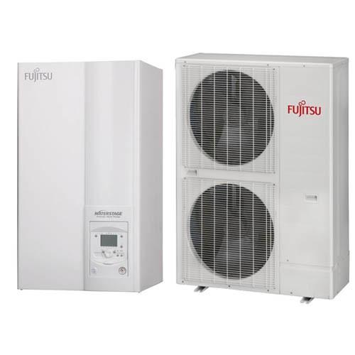 Трехфазный тепловой насос Fujitsu  WSYK160DC9/WOYK112LCT (11,2 кВт)